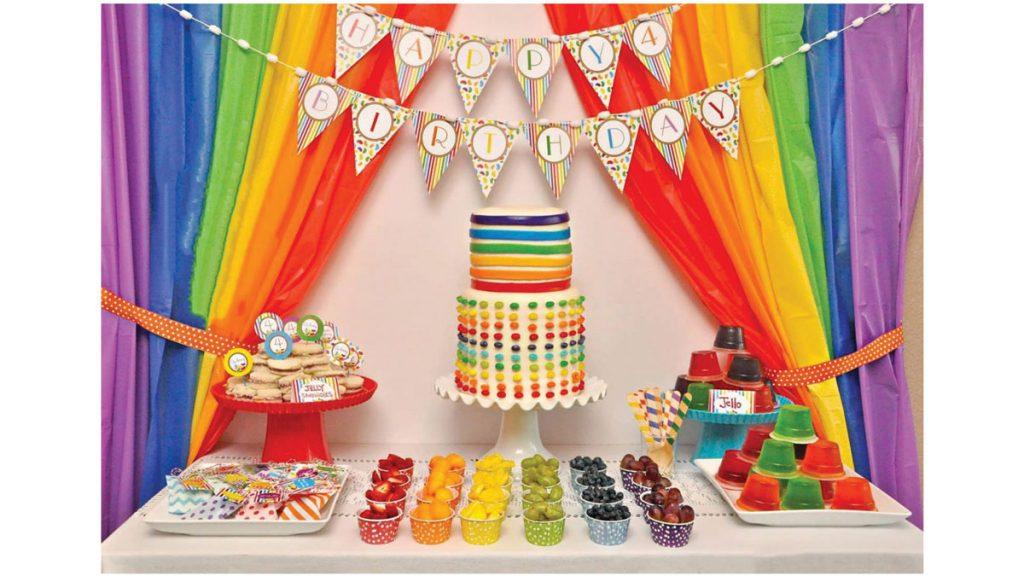 نکاتی در مورد تم جشن تولد