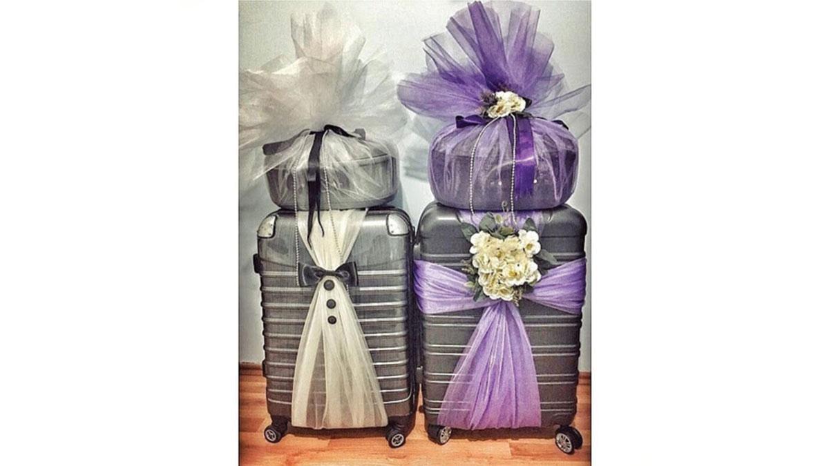 خرید چمدان عروس و داماد