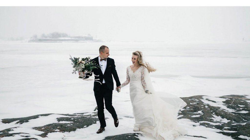 مراسم عروسی در زمستان
