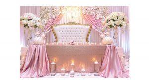ایده های گل آرایی در عروسی