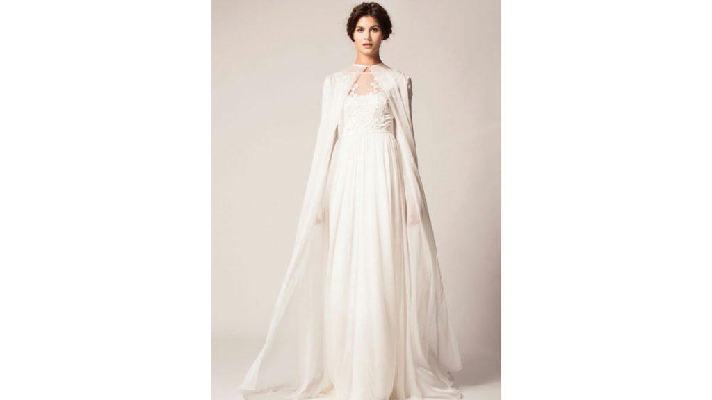 نکاتی در مورد شنل لباس عروس